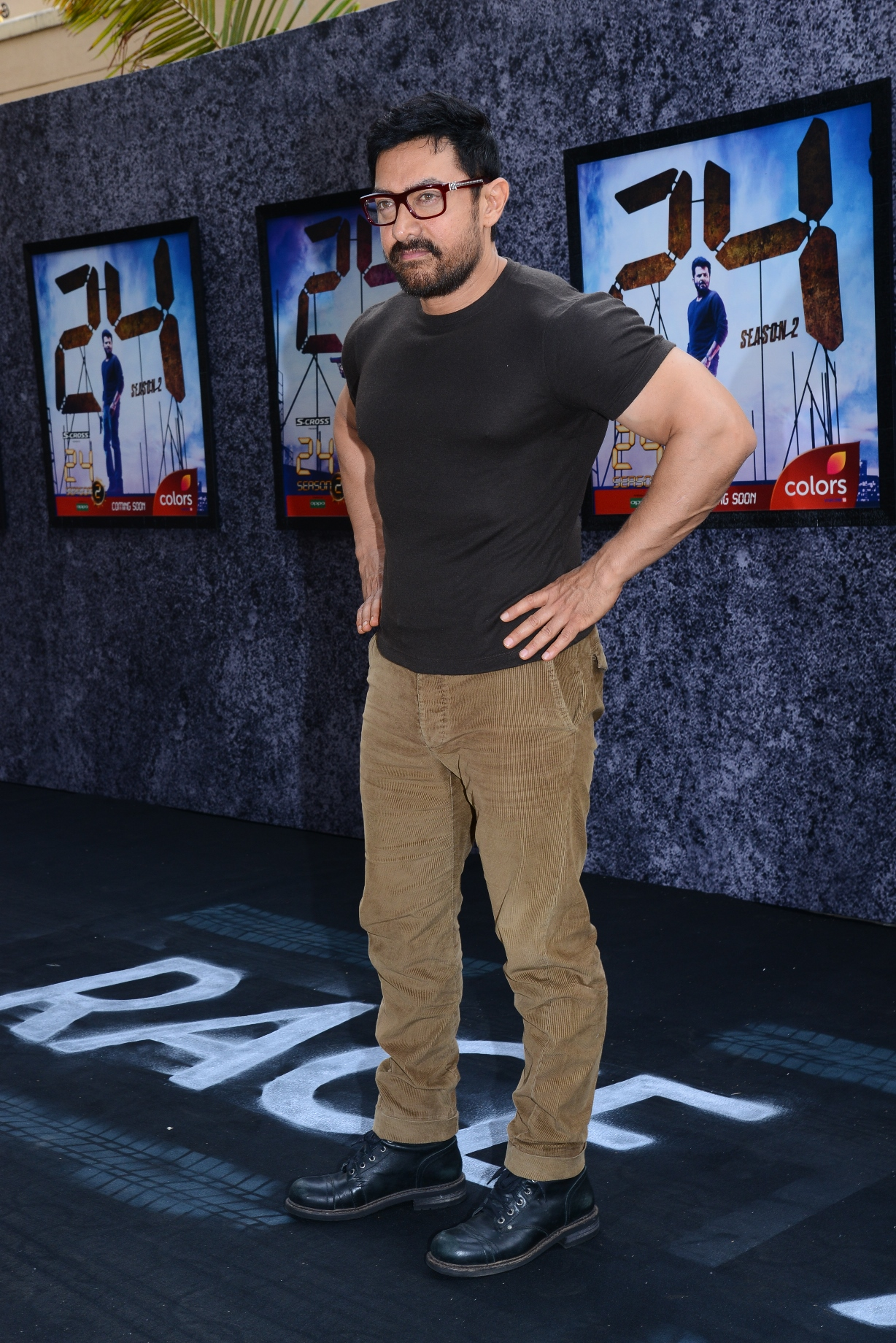 Aamir Khan at the trailer launch of 24 Season 2