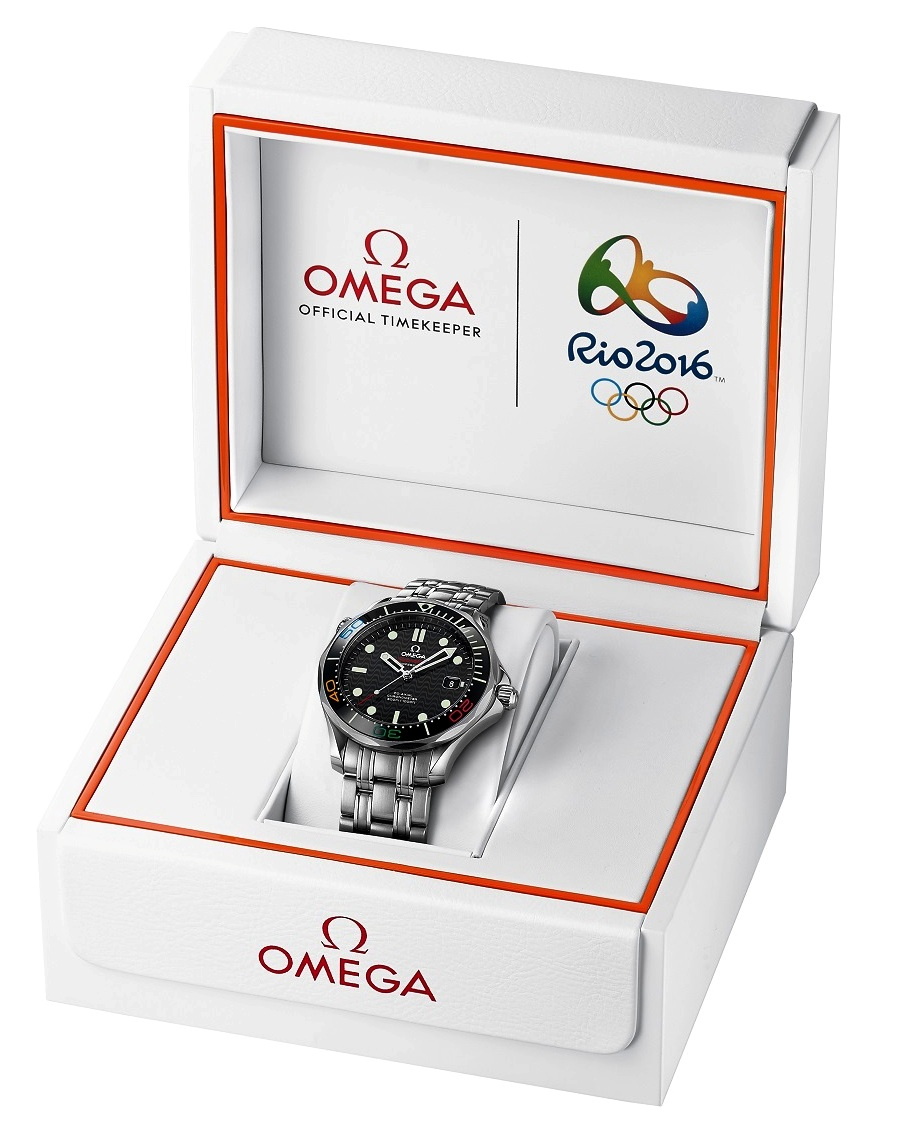 OMEGA LAUNCHES THE SEAMASTER DIVER 300M_RIO 2016_ LIMITED EDITION WATCH_3
