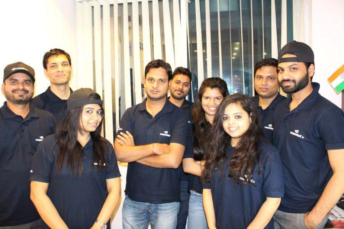 Vipin Kumar Yadam with his team
