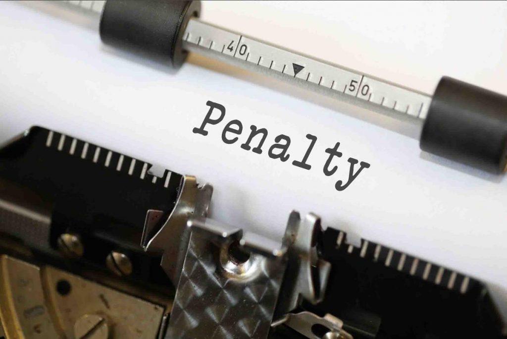 monetary penalty