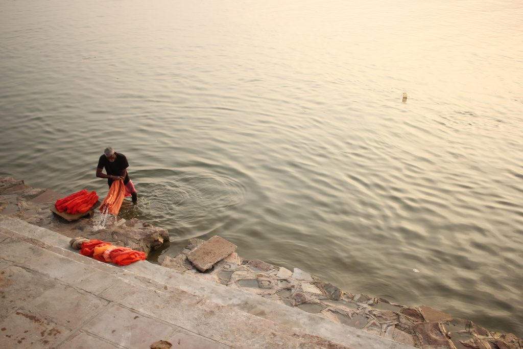Plastic Waste in Ganges